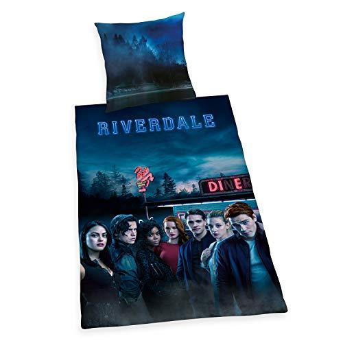 Herding Riverdale Bettwäsche-Sets, Cotton, mehrfarbig, 135 x 200 cm