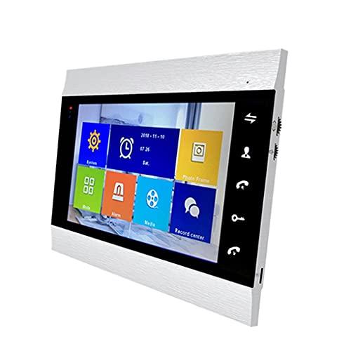 ZLYPSW Sistema De Intercomunicación De La Puerta De La Puerta De La Puerta del Video WiFi WiFi WiFi Sistema De La Cámara De La Cámara del Monitor IP De 7 Pulgadas (Color : Single Monitor)