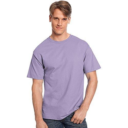 Hanes TAGLESS T-Shirt_Lavender_L