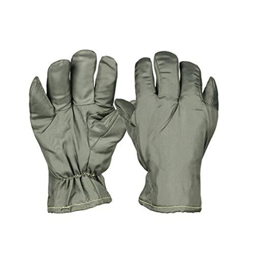 JKMQA Hochtemperaturbeständige Handschuhe, staubfreie und wärmeisolierende Handschuhe, Reinraum, laborisolierte Handschuhe, Keine Chips, hohe Temperaturbeständigkeit, 300 Grad