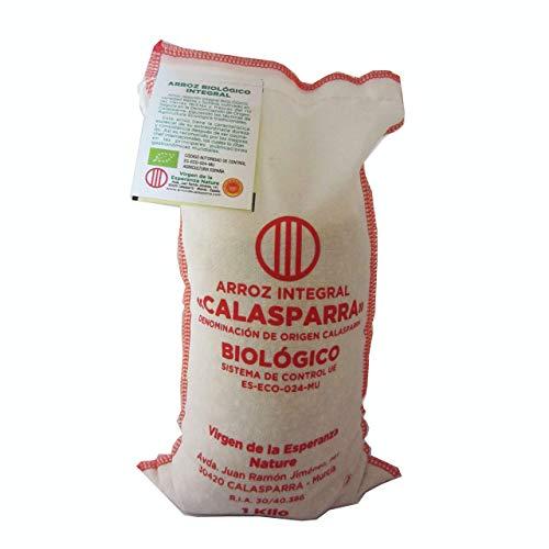 Calasparra Arroz E.Tela Integral Calasparra 1 Kg - 100 g