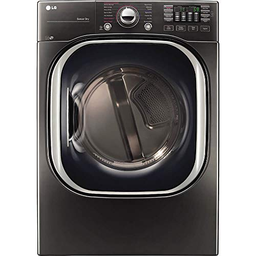 LG DLEX4370K 7.4 Cu. Ft. Black Stainless Electric Dryer with TurboSteam0153