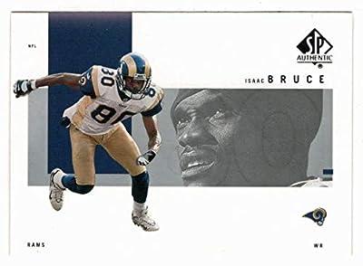 Isaac Bruce - St. Louis Rams (Football Card) 2001 Upper Deck SP Authentic # 74 Mint