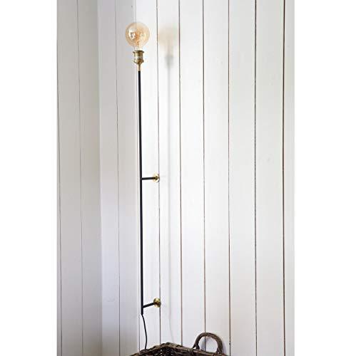 Riviera Maison - Hoxton - Wandlampe Lampe - Black - Aluminium, Eisen - B: 16 Ø: 6cm x L: 134cm