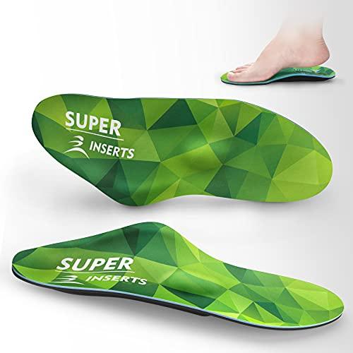 Semelles orthopédiques, semelle gel semelle antidérapante pour la fasciite plantaire semelle pied plat pour femme et homme,semelles chaussures confort le confort course au travail Soulage la douleur