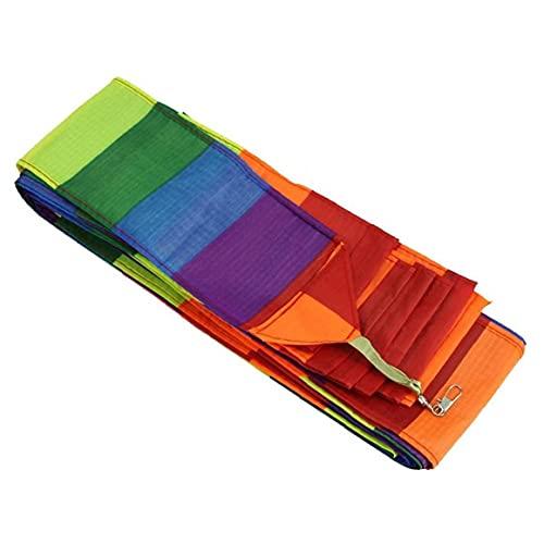 OMMO LEBEINDR Lenkdrachen Zubehör Regenbogen 3D-schlauchschwanz Für Delta Drachen Stunt-Software Drachen Kinder