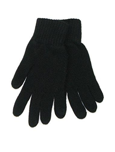 LOVARZI Frauenhandschuhe Schwarz Kaschmir handschuhe für Damen - Warm Winterhandschuhe