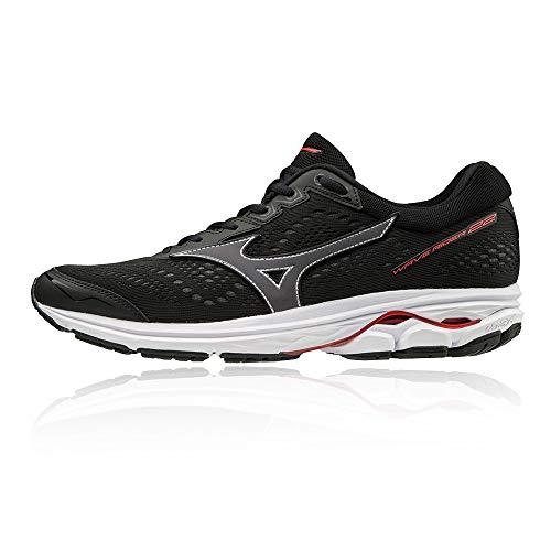 Mizuno Wave Rider 22 Running Shoes (2E Width) - 7.5 Black