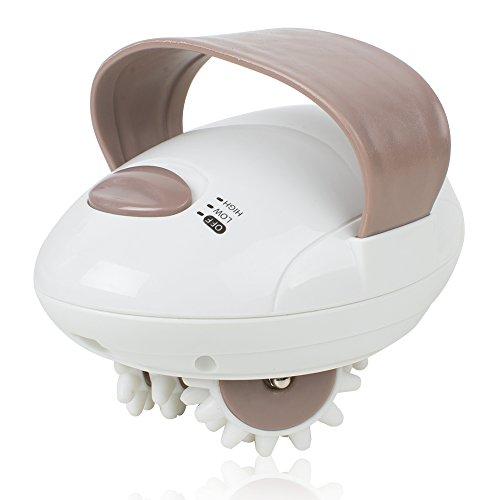 Risingmed Appareil de Massage Anti-cellulite 3D Mini Full Body Roller Masseur Electrique Portable
