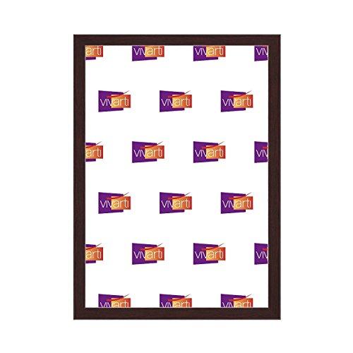 Vivarti Cadre Photo Fin Couleur Marron/Brun Foncé/Acajou, A3 Dimension, 29.7 x 42 cm