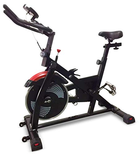 Fit4home TF-Z1 Spin Bike Exercise Bike Aerobic Spinning Home Gym Fitness Machine Black