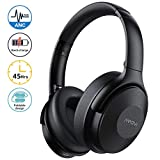 Mpow Noise Cancelling Headphones Wireless, 45Hrs Bluetooth Headphones Over Ear with Quick Charge