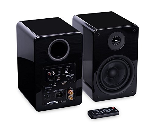 Peachtree Audio M25 Powered Speakers (Pair) - Piano Black