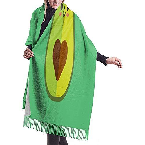 Elaine-Shop Abrigo de mantón de pashmina para mujer Mujeres