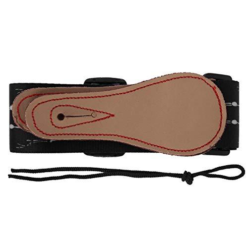 Cómoda correa de guitarra eléctrica para guitarristas, estudiantes de aprendizaje de guitarra,...