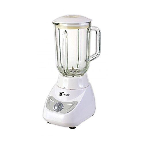Batidora de Vaso 400W Profesional, Trituradora 1,5 litros Batidos zumos fruta