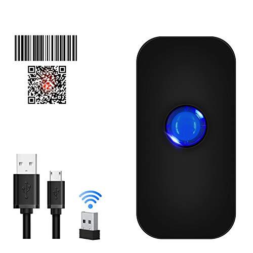 Bluetooth 2D Wireless Barcode Scanner,Symcode 3-in-1 USB Wired & 2.4G Wireless & Bluetooth 4.1 1D QR Image Bar Code Reader Scanner barcode scanner wireless