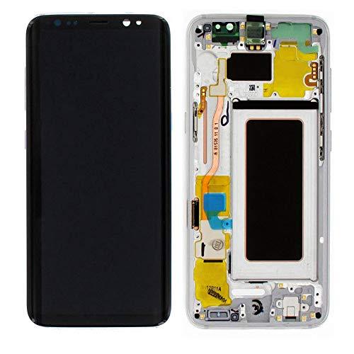 LCD Display Samsung G950F Galaxy S8 Original full set silver - FHD Super AMOLED Curved LCD Display + Display Glas + Touchscreen + Elektronik