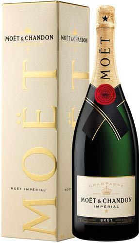 1x Moet & Chandon - Champagne Imperial Brut, Magnum-Flasche - 1500ml