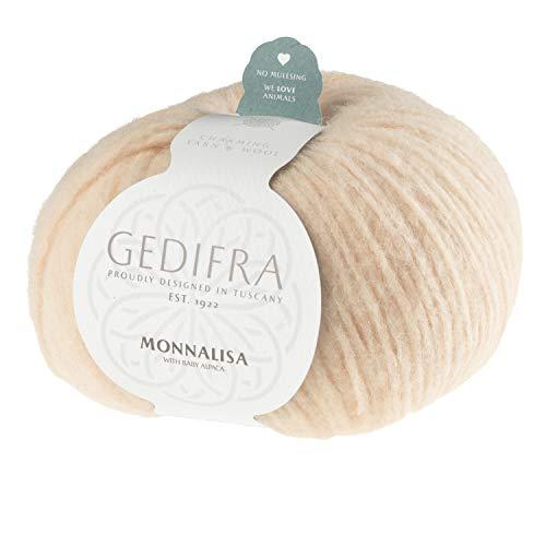Gedifra Monnalisa 9810009-00707 puder Handstrickgarn, Alpakawolle
