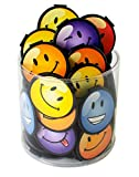 """SMILEY FACE BOOKMARKS! Each 1.5"""" plastic bookmark easily clips over the page to securely mark your place. Our bookmarks are a sure fire way to encourage school spirit and reading! Ideal for student incentives, reading rewards, student prizes, teacher..."""
