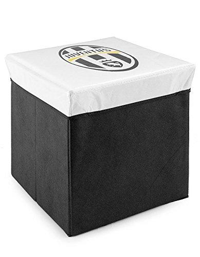 Pouf Contenitore F.C. JUVE JUVENTUS Ufficiale Smart box salvaspazio
