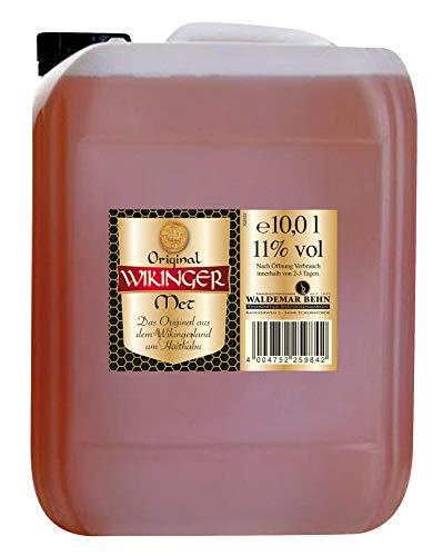 Original Wikinger Met (1 x 10l) Der echte Honigwein aus dem Wikingerland Haithabu
