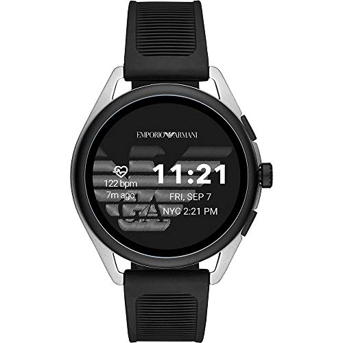 Emporio Armani Smartwatch Pantalla táctil para Hombre de Connected con Correa en Plástico ART5021
