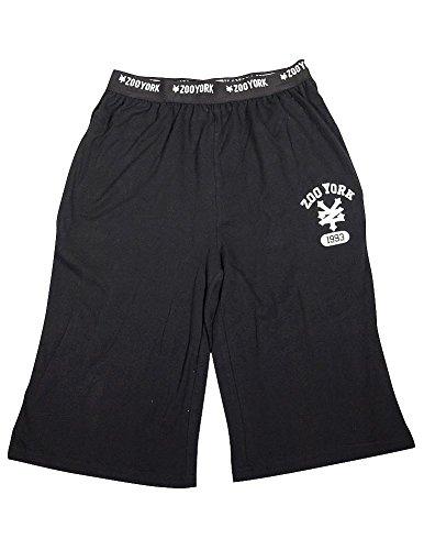 Zoo York - Mens Boxer Lounge Short, Black 34879-Medium