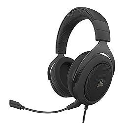 professional Corsair HS60 Pro – 7.1 Virtual Surround PC Gaming Headset, USB DAC – Discord Certified…