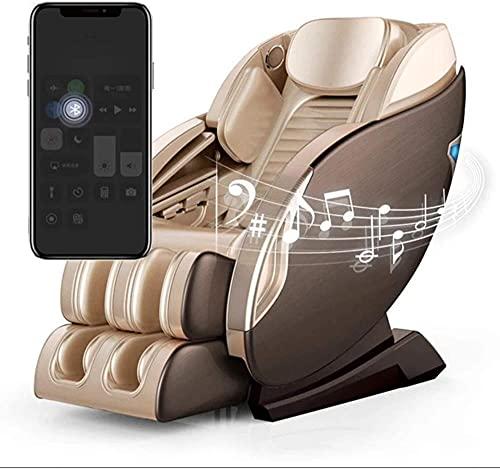 LHMYHJR 2021 Zero Gravity Massage Sessel Arm und Hüfte Vibration Fußmassage Zurück Heizen Komprimierte Airbag Finger-Massage-Recliner Bluetooth-Verbindung kann Musik Spielen