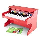 New Classic Toys - 10160 - Instruments de Musique - Électronique Piano En Rouge