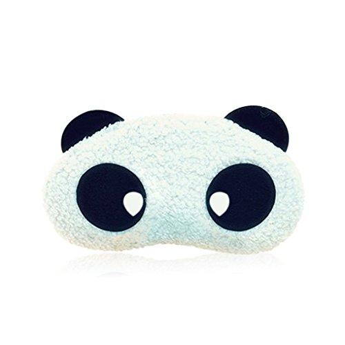 Morza Schlafmaske Cute Panda-Augen-Schablone für Sleeping Panda Blindfold Schlafmasken Augenmaske Schlafen Nap Cover, Night Blinder eyeshade für Männer Frauen Kinder