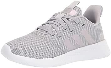 adidas Women's Puremotion Running Shoe, Grey/Silver Metallic/Purple Tint, 8.5