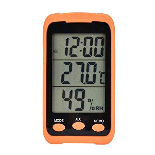 FENXIXI Digital temperatura y humedad medidor hogar interior alta precisión electrónica húmedo y seco termómetro montado en la pared hogar interior