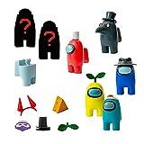 Bizak- Among Us Pack 8 en Caja Deluxe Surtido 2 (Pingüino) (64112070), Multicolor