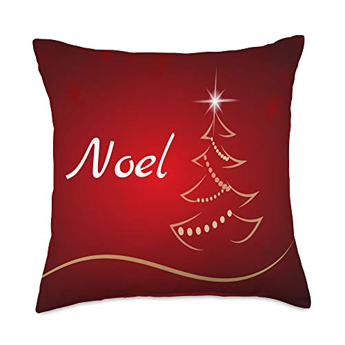 Faith Based Clothing & Pillows Christmas Season Joy to The World | Noel Throw Pillow, 18x18, Multicolor