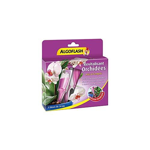ALGOFLASH Monodoses Revitalisantes Orchidées, 5 doses, MONORCHID 30 ml Violet