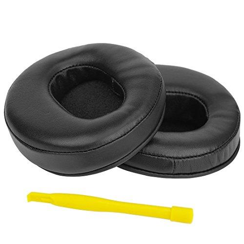 Sheepskin Leather Replacement Earpads for DENON AH-D2000, AH D5000, D7000 Headphone Ear Cover/Earpad Repair Parts