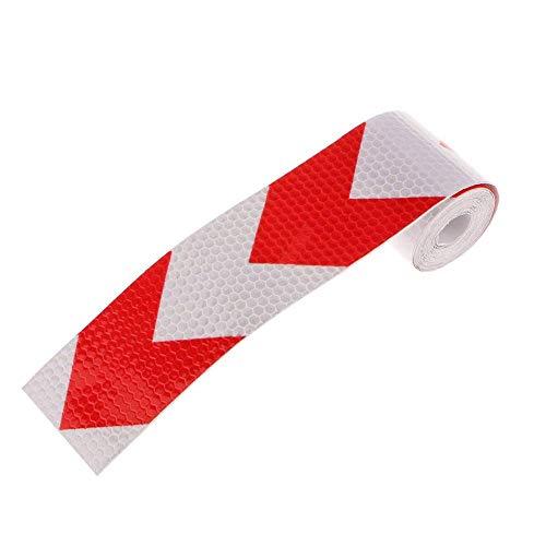 Vektenxi Sicherheitsband hochfesten Reflexstreifen Film selbstklebenden Gummi 5cm * 3m DIY Tools langlebig und nützlich