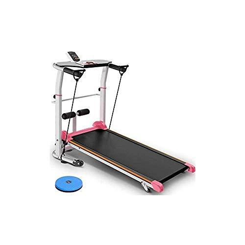 Laufbänder, Laufband Mini Faltbares Heimlaufband Modelle Multifunktions-Fitnessgeräte Stumm Kleiner Gewichtsverlust Einfaches Laufband, Fettverbrennung