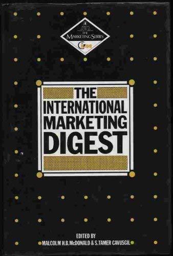 The International Marketing Digest (Marketing Series)