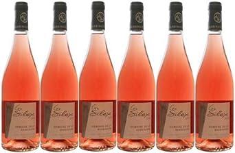Fief Vendéen Silex rosado seco BIO 2019 AOC, 6 botellas de 75cl.