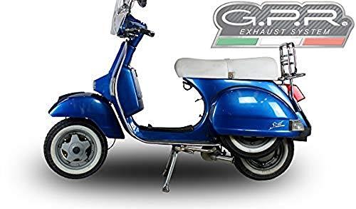 GPR Italia LML.3.AO Anlage für Scooter Lml Star 200 2011/2016 4T bei Marce / 4St With Gears Aluminium