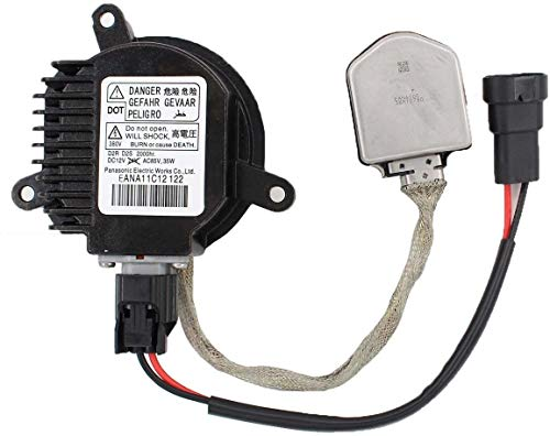 MOTOKU Xenon Headlight HID Ballast Control Unit Igniter Inverter Fits For 350Z Altima GT-R Maxima Murano Rogue EX35 FX35 / FX45 / FX50 JX35 M35 / M37 / M45 / M56 QX56