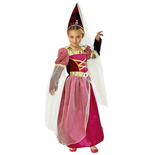 Partilandia Disfraz Princesa Medieval niña Infantil para Carnaval ...