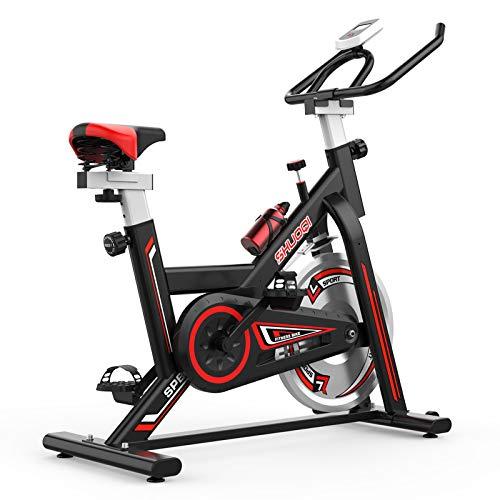 SHUOQI Vélos d'appartement Vélo d'entraînement,...