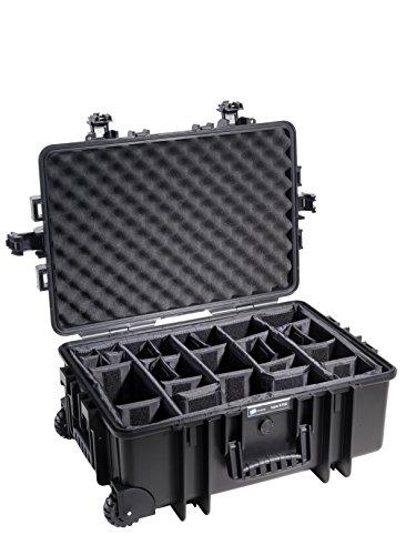 B&W outdoor.cases Typ 6700 mit variabler Facheinteilung (RPD) - Das Original