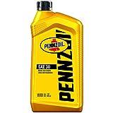 Pennzoil (550034991-6PK) SAE 30 Motor Oil - 1 Quart, (Pack of 6)