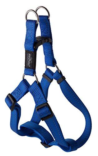 Rogz Utility - Cinturón para cinturón de Seguridad, tamaño Grande, Color Azul